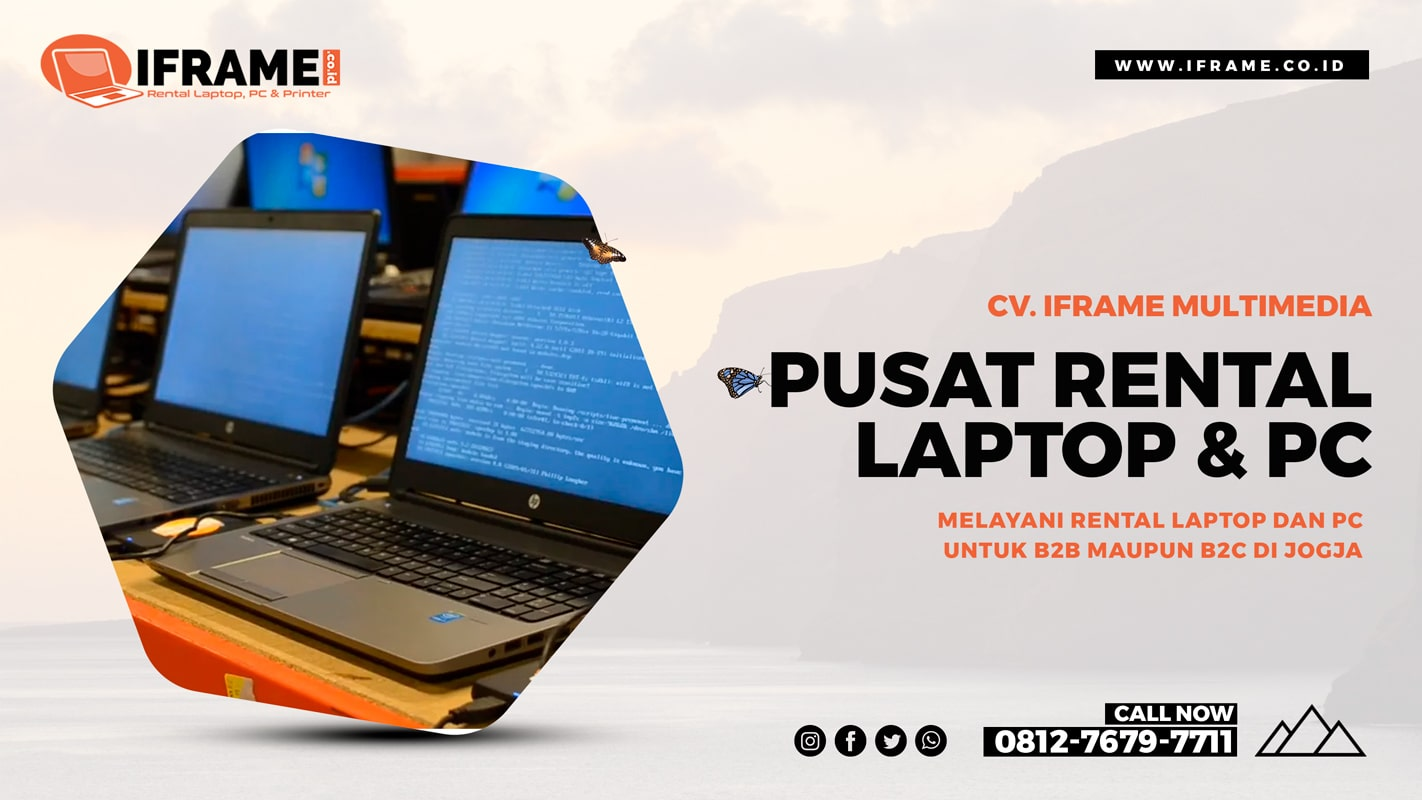 pusat rental laptop jogja